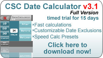 ... Date Duration Calculator, you are able to view the duration between